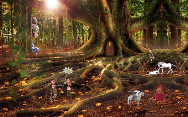 Il bosco degli elfi a Montecatini Terme