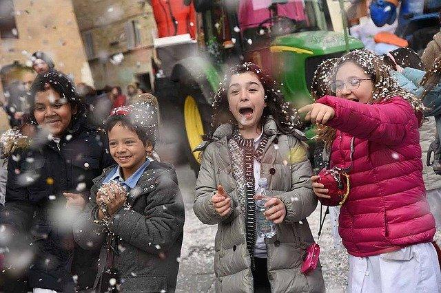 Carnevale poesie per bambini