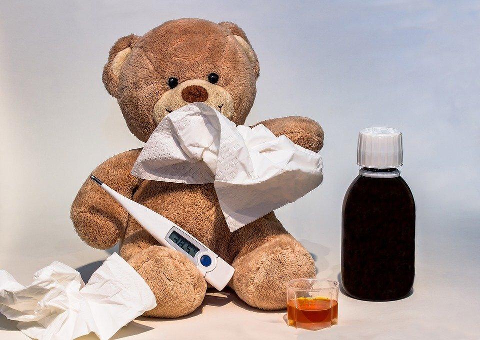influenza 2018 nei bimbi